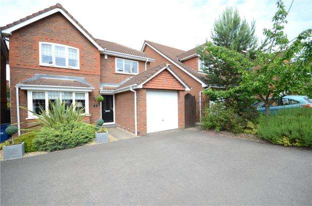 4 Bedrooms Detached House for sale in Norman Keep, Warfield