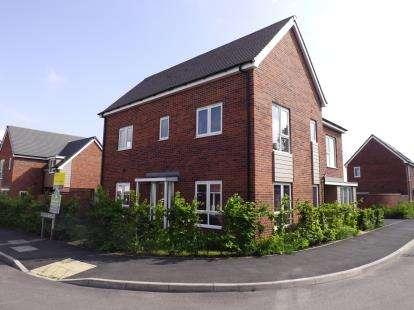 3 Bedrooms Semi Detached House for sale in Buckthorn Road, Coalville