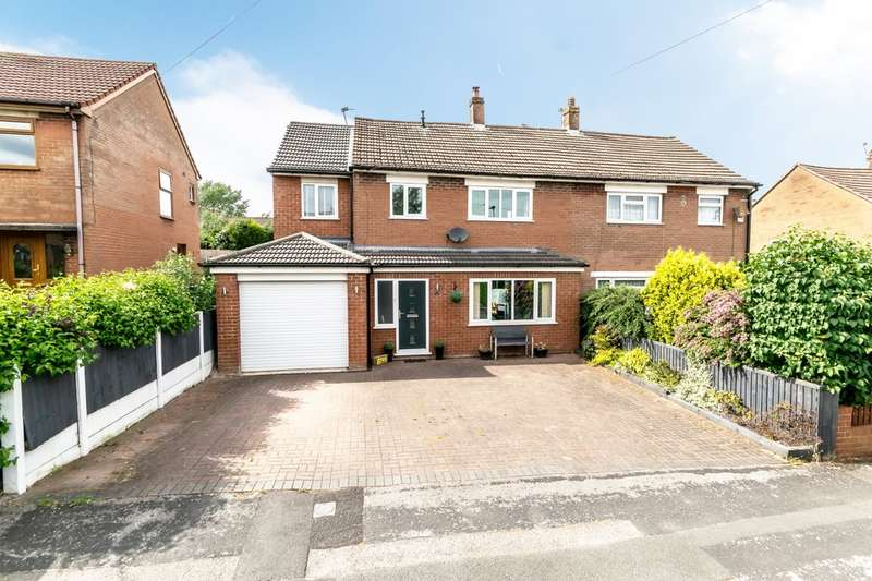 4 Bedrooms Semi Detached House for sale in Cobbs Lane, Warrington