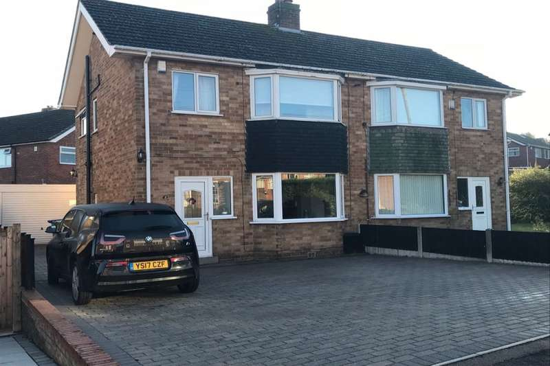 3 Bedrooms Semi Detached House for sale in Edwin Avenue, CHESTERFIELD, S40
