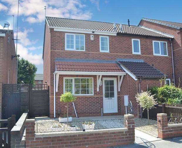 2 Bedrooms Town House for sale in Franchise Street, Derby, DE22