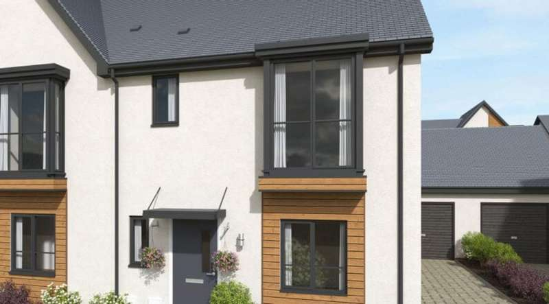 3 Bedrooms Semi Detached House for sale in The Tamar l, Plymouth