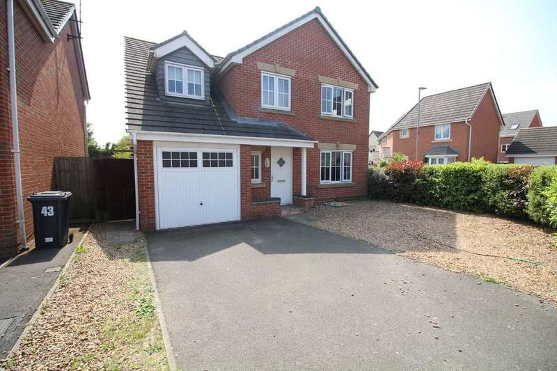 5 Bedrooms Detached House for sale in Scotlands Drive, Coalville