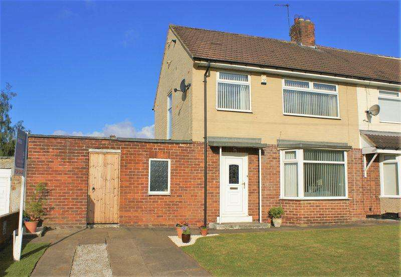3 Bedrooms Semi Detached House for sale in Ragpath Lane, Roseworth, Stockton, TS19 9BA