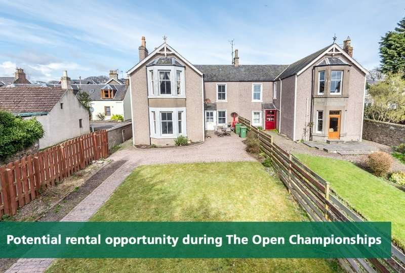 6 Bedrooms Semi Detached House for sale in Lochty Street, Carnoustie, Angus, DD7 6EE