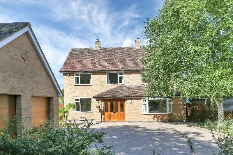 4 Bedrooms Detached House for sale in Burton Road, Melton Mowbray