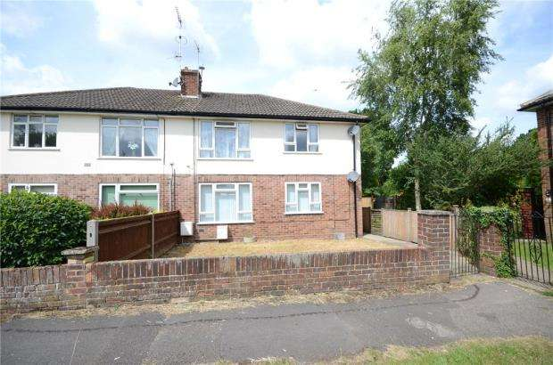 2 Bedrooms Maisonette Flat for sale in Alder Drive, Tilehurst, Reading