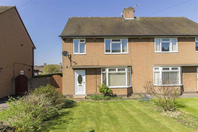 2 Bedrooms Semi Detached House for sale in Keswick Drive, Newbold, Chesterfield