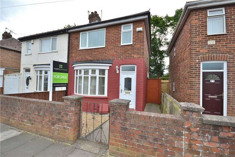 2 Bedrooms Semi Detached House for sale in Swinburn Road, Norton, Stockton-On-Tees