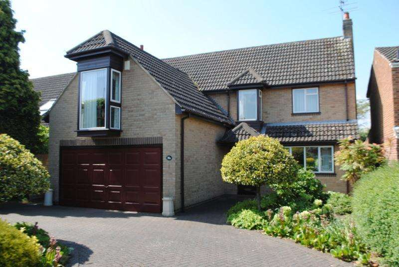 4 Bedrooms Detached House for sale in Warwick Avenue, Quorn, Loughborough