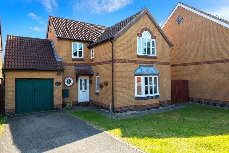4 Bedrooms Detached House for sale in Viking Way, Thurlby, Bourne, PE10
