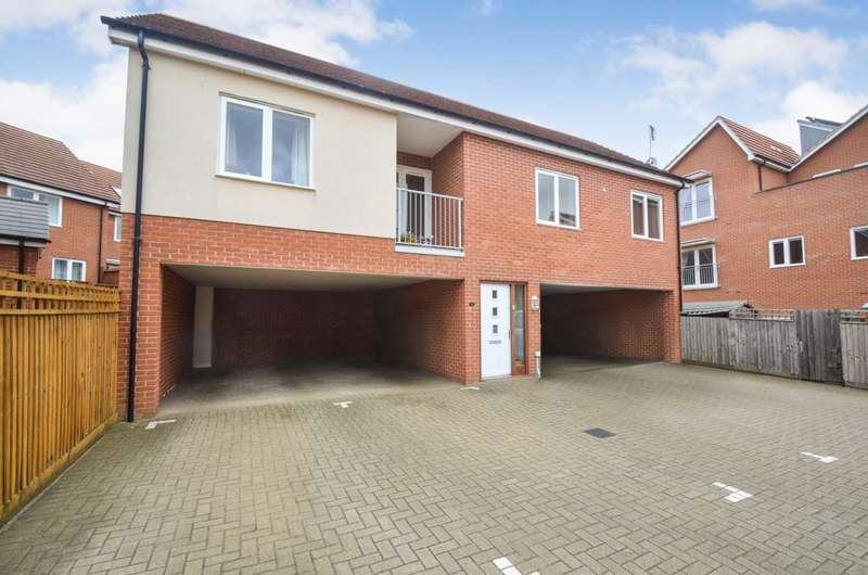 2 Bedrooms Coach House Flat for sale in Oxley Park