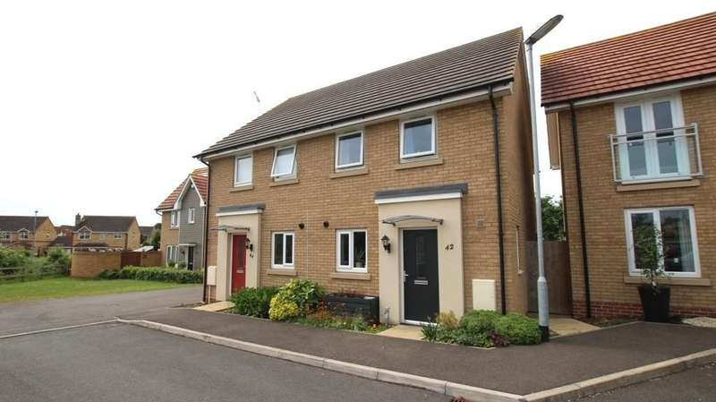 3 Bedrooms Semi Detached House for sale in Carey Close, Ely