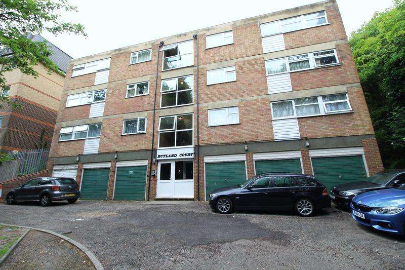 1 Bedroom Flat for sale in One bed flat within walking distance to town station, Rutland Court, Stopsley