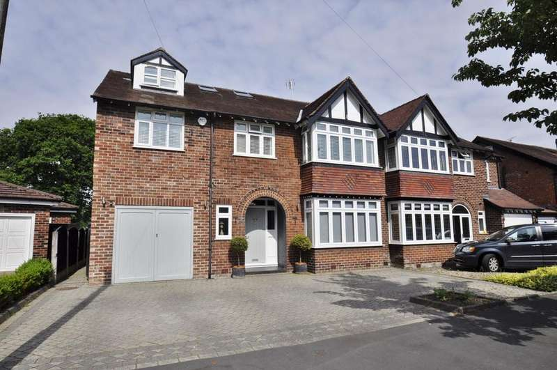 6 Bedrooms Semi Detached House for sale in Oak Drive, Bramhall,