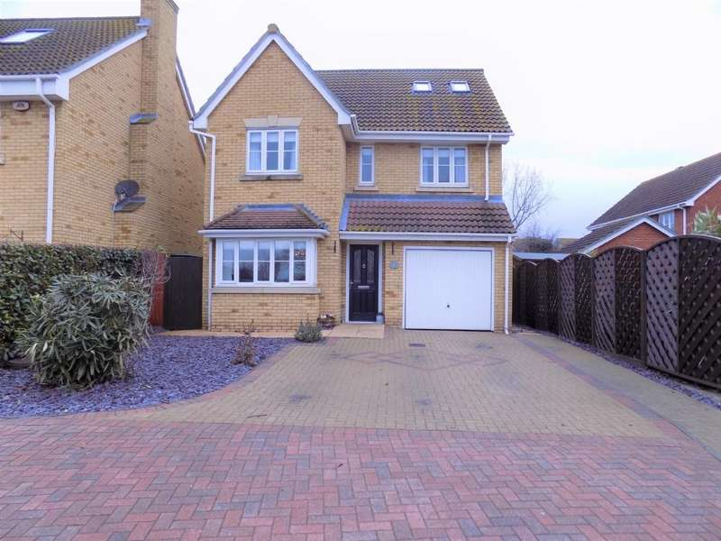 5 Bedrooms Detached House for sale in Magnolia Close, Canvey Island, Essex, SS8 0GD