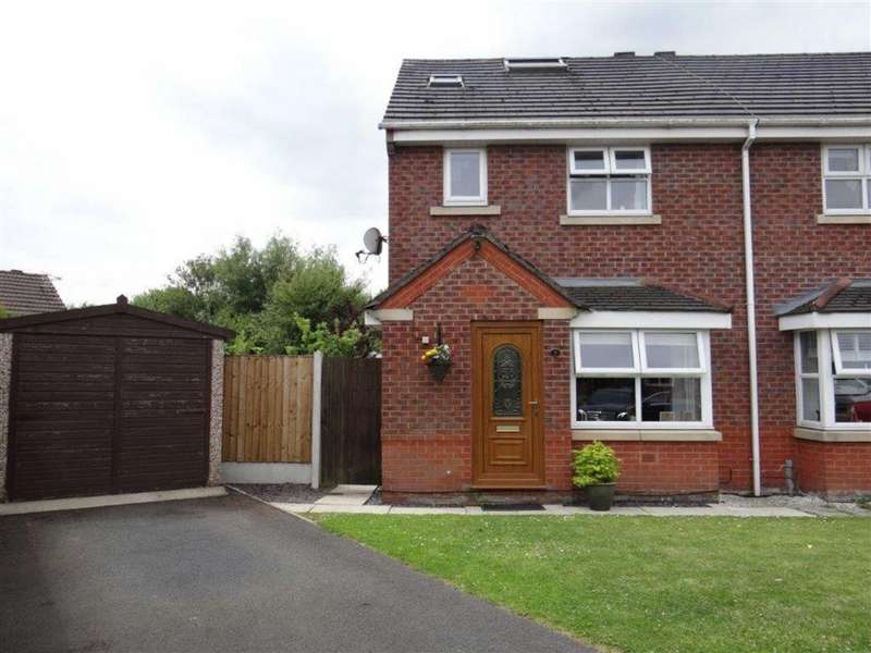 3 Bedrooms Semi Detached House for sale in Stradbroke Close, Lowton, Nr Warrington