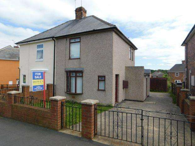 2 Bedrooms Semi Detached House for sale in WOODLAND CRESCENT, KELLOE, DURHAM CITY : VILLAGES EAST OF