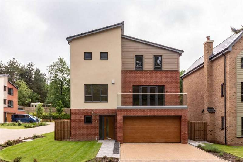 4 Bedrooms Detached House for sale in Fallow Park, Rugeley Road, Hednesford, Cannock, Staffordshire