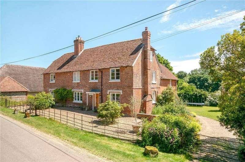5 Bedrooms Detached House for sale in Longstock, Stockbridge, Hampshire, SO20