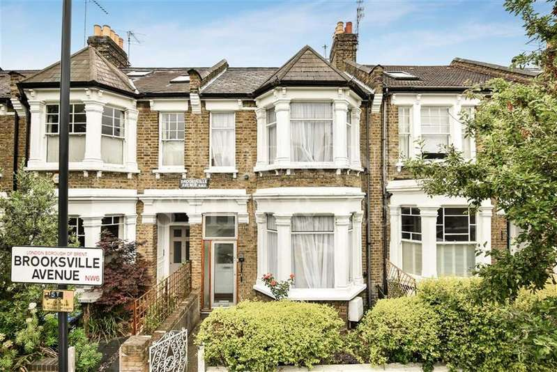 3 Bedrooms Terraced House for sale in Brooksville Avenue, Queens Park, London, NW6