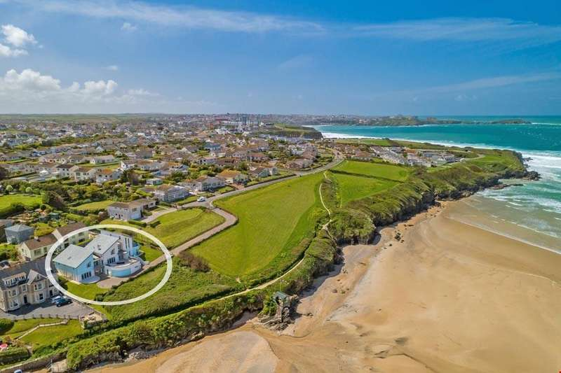 5 Bedrooms Detached House for sale in Porth, Newquay, Cornwall, TR7