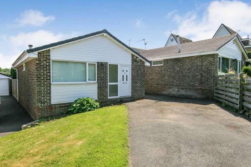 2 Bedrooms Bungalow for sale in Hayfield Close, Dronfield Woodhouse, Derbyshire, S18 8RP