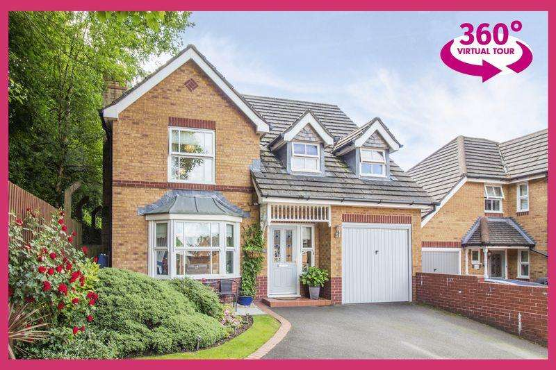 4 Bedrooms Detached House for sale in Cedar Wood Drive, Newport - REF #00004529 - View 360 Tour at http://bit.ly/2JCc2PC