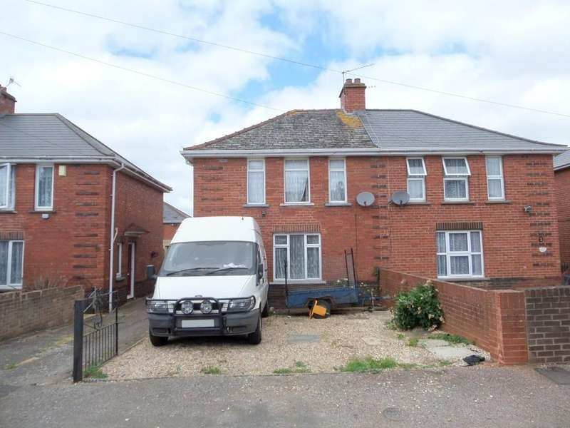 3 Bedrooms Semi Detached House for sale in Hawthorn Road, Exeter