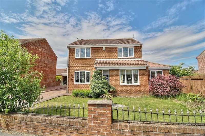 4 Bedrooms Detached House for sale in Sherburn Way, Wardley, Gateshead, NE10 8TZ
