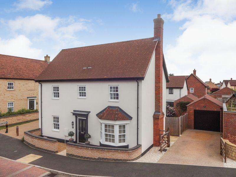 4 Bedrooms Detached House for sale in Mander Farm Road, Silsoe
