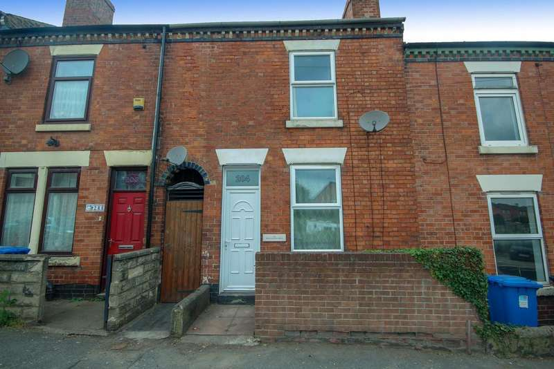 2 Bedrooms Terraced House for sale in Uttoxeter Old Road, Derby