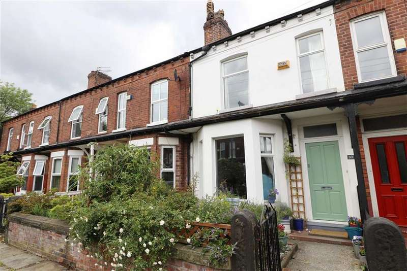 2 Bedrooms Terraced House for sale in Whalley Avenue, Chorlton, Manchester, M21