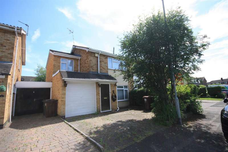 3 Bedrooms Detached House for sale in Dalley Close, Syston, Leicester