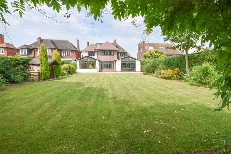 5 Bedrooms Detached House for sale in Boundary Road, West Bridgford, Nottingham