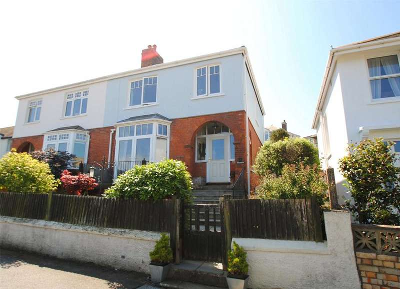 3 Bedrooms Semi Detached House for sale in Portland Park, Ilfracombe