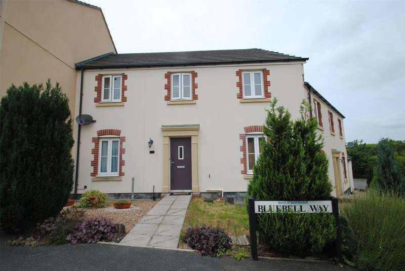2 Bedrooms Terraced House for sale in Bluebell Way, Launceston