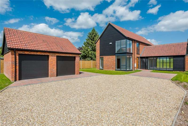 4 Bedrooms Detached House for sale in Pheasant House Intwood Lane, Swardeston, Norwich, NR14