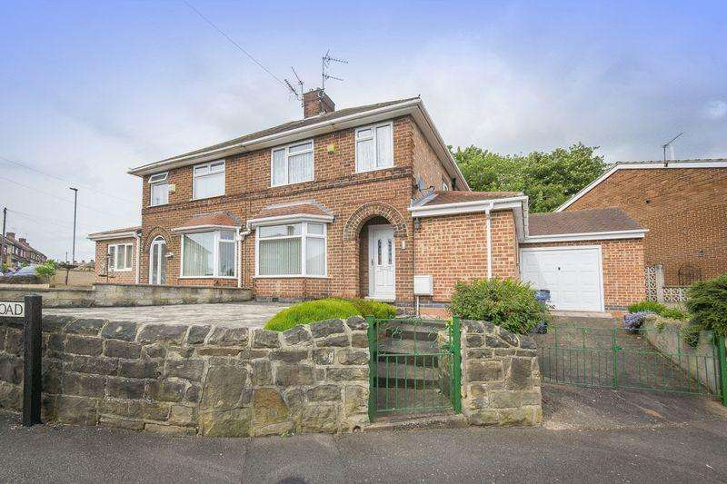 3 Bedrooms Semi Detached House for sale in GERTRUDE ROAD, CHADDESDEN