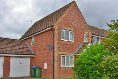 3 Bedrooms End Of Terrace House for sale in Bond Close, Aylesbury, Bucks, England