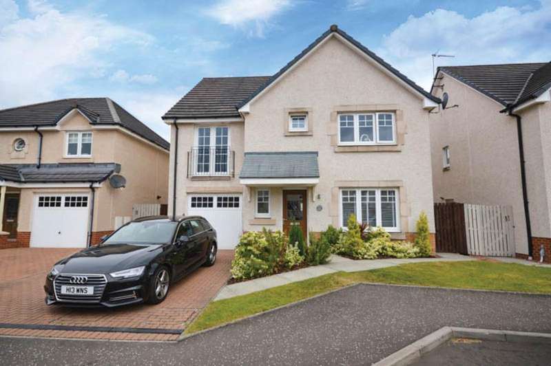 4 Bedrooms Detached House for sale in Orissa Drive, Dumbarton G82 1AB
