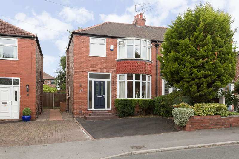 3 Bedrooms Semi Detached House for sale in Marcliff Grove, Heaton Mersey