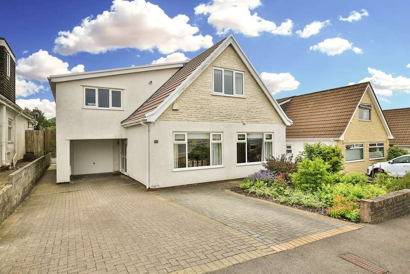 4 Bedrooms Detached House for sale in Penywaun, Efail Isaf, Pontypridd