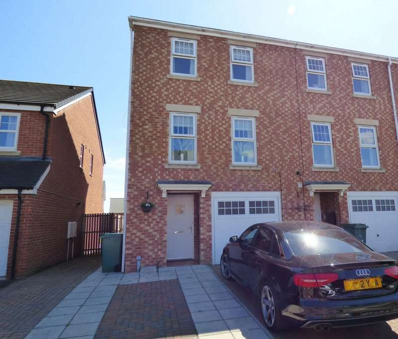 3 Bedrooms Semi Detached House for sale in Atlantic Crescent, Thornaby, Stockton-On-Tees, TS17