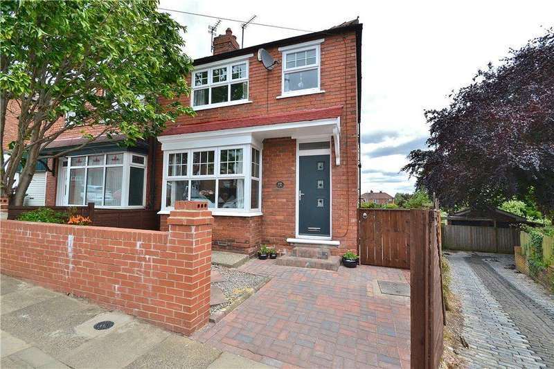 3 Bedrooms Semi Detached House for sale in Beaconsfield Road, Norton, Stockton-On-Tees
