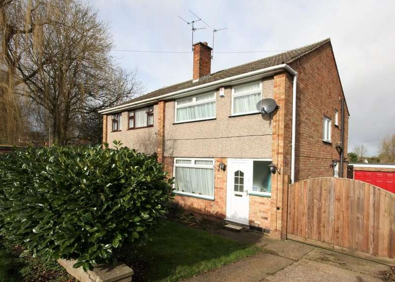 3 Bedrooms Semi Detached House for sale in Baldocks Lane, MELTON MOWBRAY