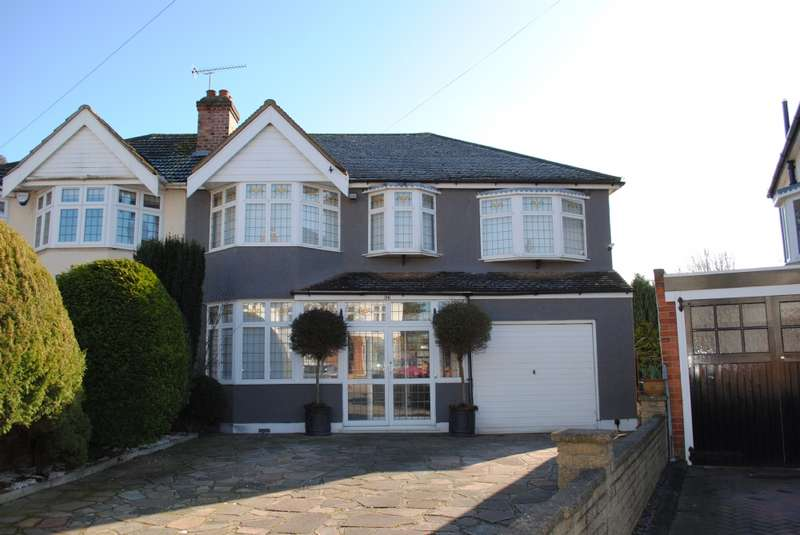 5 Bedrooms Semi Detached House for sale in Havering Drive, Romford