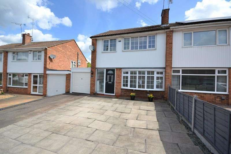 3 Bedrooms Semi Detached House for sale in Grass Acres, Leicester