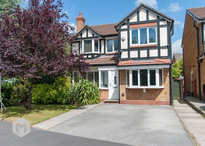 3 Bedrooms Detached House for sale in Renfrew Drive, Bolton, BL3