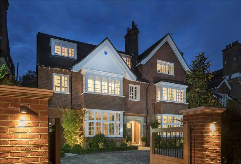 7 Bedrooms Detached House for sale in Wadham Gardens, Primrose Hill, London, NW3